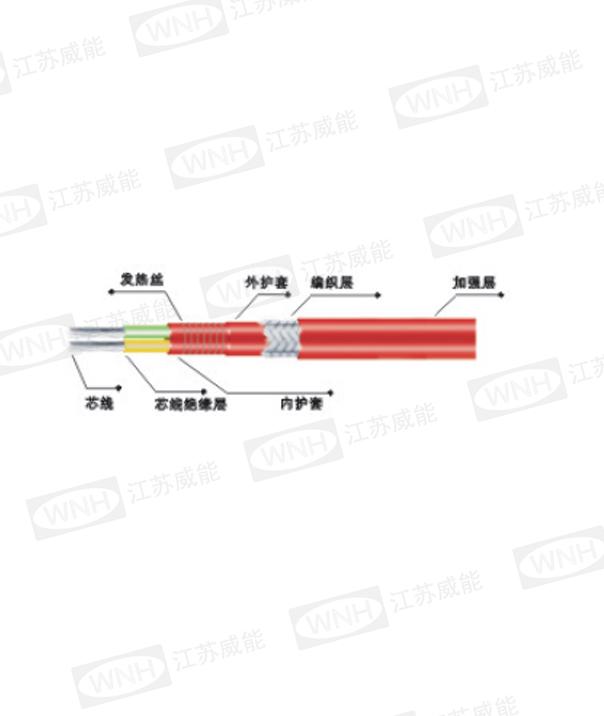 JFB-□/2型单相恒功率并联电热带